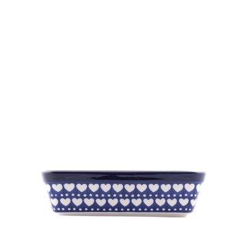 Rechte Ovenschaal Blue Valentine