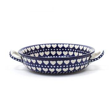 Ronde Ovenschaal Blue Valentine