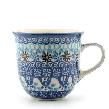 Senseo mug Blue Coral