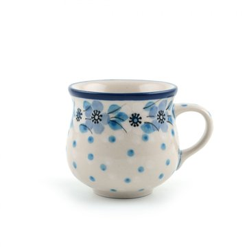 Farmermug espresso Blue White Love