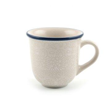 Espresso White Lace