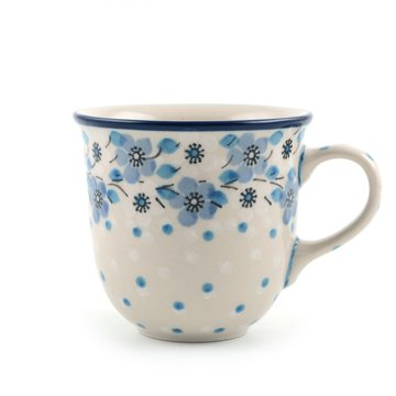 Senseo mug Blue White Love