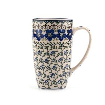 Coffee to Go Mug Wood Violets