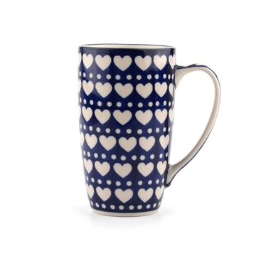 Coffee to go Mug Blue Valentine