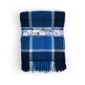 Wollen deken Geruit