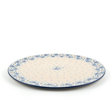 Pizzabord Blue White Love