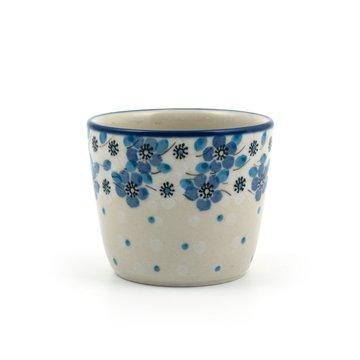 Mug Tumbler Blue White Love