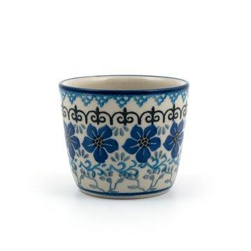 Mug Tumbler Blue Violets
