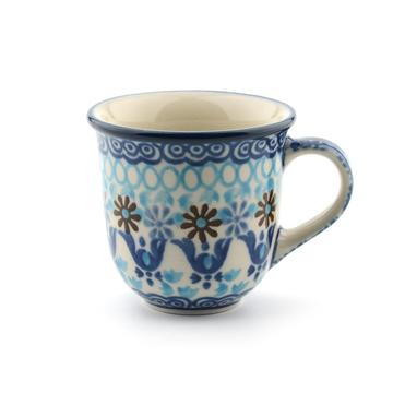 Espresso Mug Blue Coral