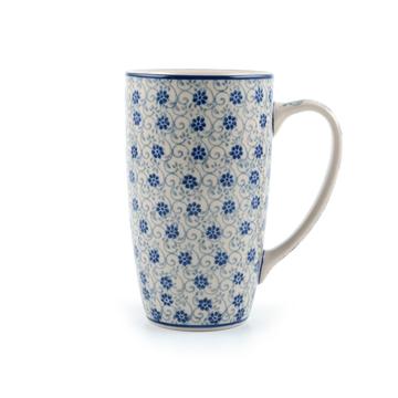 Coffee to Go Mug Flower Fountain