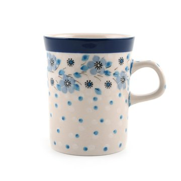 Mug Blue White Love