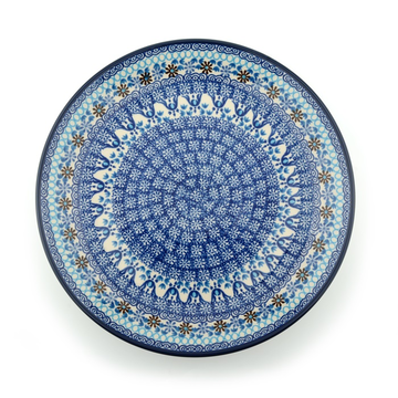 Dinerbord Blue Coral