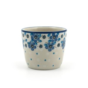 Mug Tumbler Blue White Love