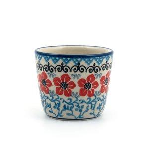 Mug Tumbler Red Violets