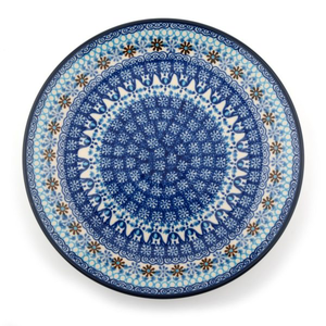 Lunchbord Blue Coral